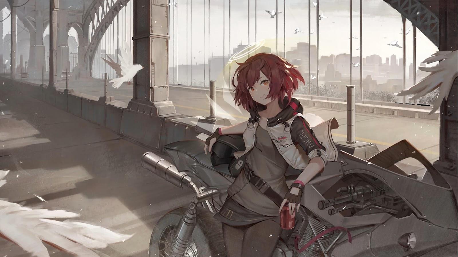 Tomorrow's Ark [1080P] [Wallpaper Engine Anime]
