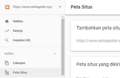 Mengatasi Status Error Sitemap Webmaster Tool Versi Terbaru