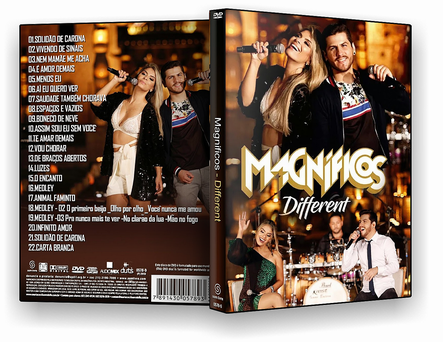 DVD - Banda Magnificos - Different - ISO