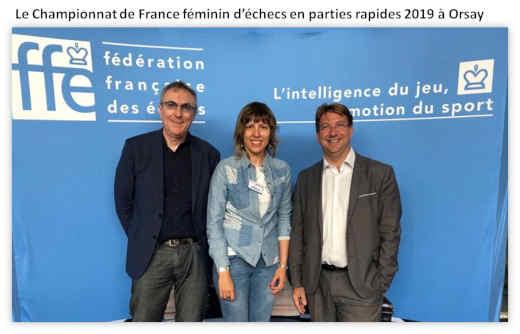 Championnat de France féminin d'échecs de parties rapides à Orsay