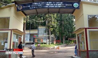 Gerbang Taman Wisata Gede Pangrango