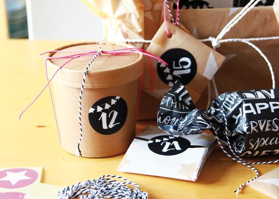 binedoro Blog, Adventskalender gestalten, Verpackung, Geschenkverpackung, Weihnachten, #miomodokreativteam