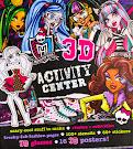 Monster High Monster High 3D Activity Centre Book Item