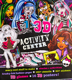 MH Monster High 3D Activity Centre Media