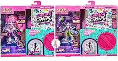 Обновление волос у кукол Capsule Chix Shimmer Surge 30 деталей