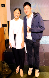 Olivia M Wong with Alaric Moses Ong