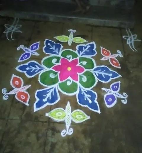 Indian-street-sankranthi-kolam-pattern