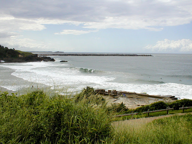 Yamba Ocean Pool, New South Wales, Australia. Photo by Loire Valley Time Travel.