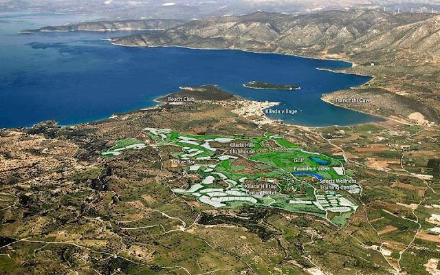 Πέφτουν οι υπογραφές για το γήπεδο γκολφ στην Αργολίδα