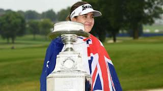 GOLF - Hannah Green conquista su primer major en el LPGA