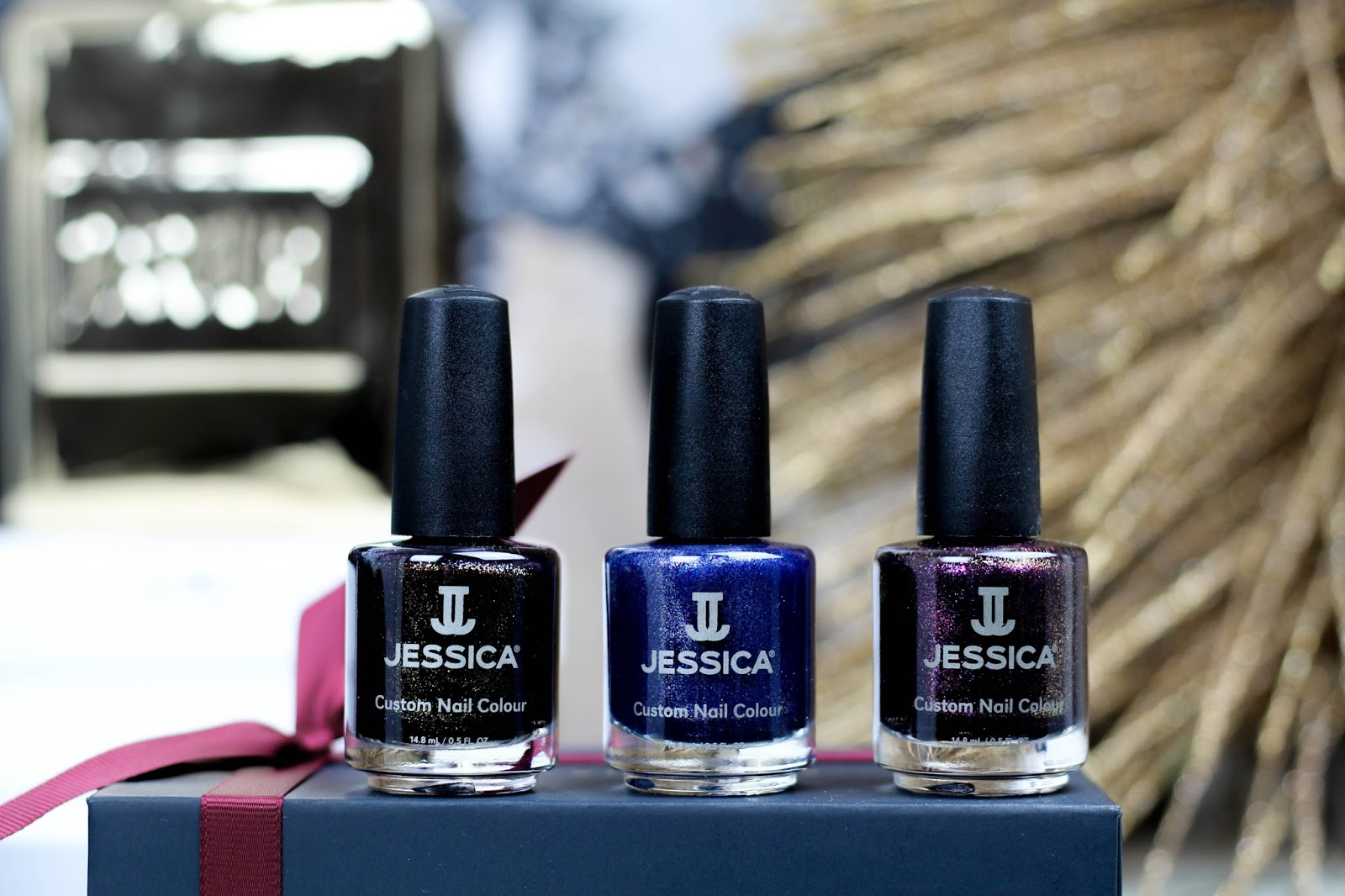 Jessica Nails Slip Into Sparkles Nail Polish Collection