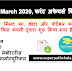 Daily Current Affairs Quiz in Hindi 30 March 2020