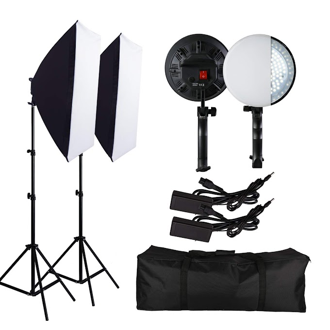 Photography Softbox Lighting Kit 61% OFF