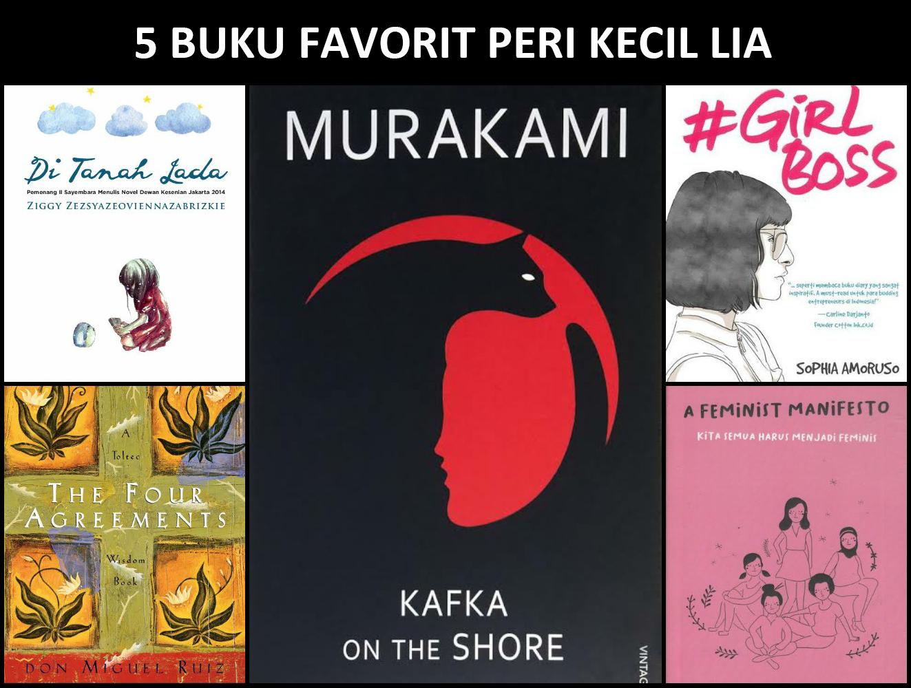 Sampul Buku Menarik dan Buku yang Sering Dibaca Ulang (Bersama Peri Kecil Lia)
