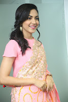 Actress Ritu Varma Pos in Beautiful Pink Anarkali Dress at at Keshava Movie Interview .COM 0178.JPG