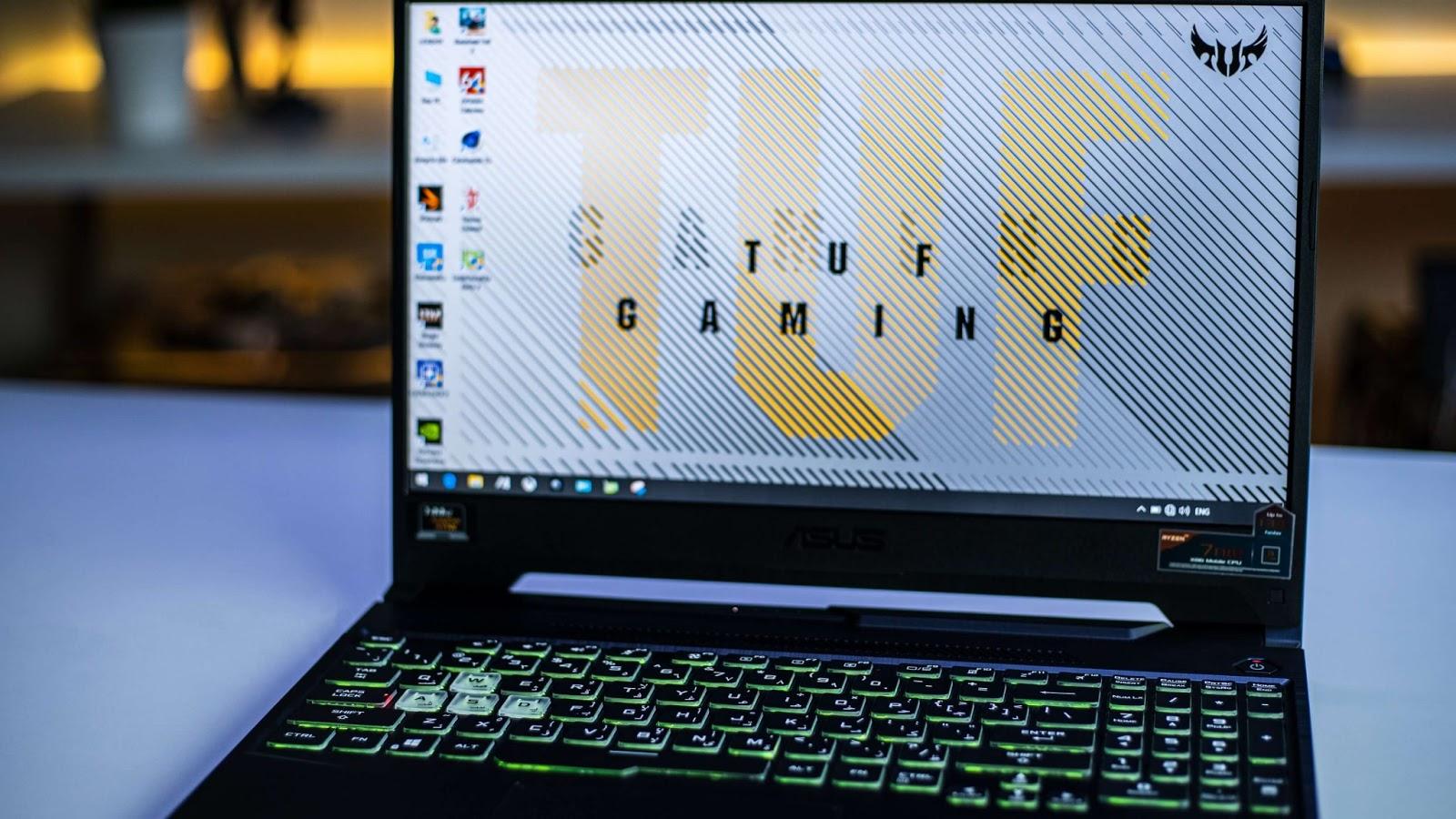 مراجعة لابتوب الالعاب ASUS TUF Gaming A15