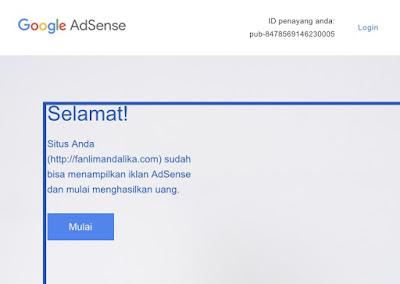 Solusi Daftar Google Adsense yang Sulit diApprove