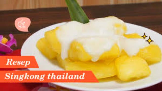 Resep Singkong Thailand Keju Enak