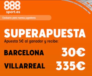 888sport superapuesta liga Barcelona vs Villarreal 24 septiembre 2019