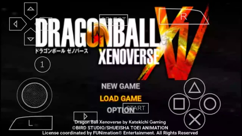 Dragon Ball Xenoverse 2 For Android PSP DBZ TTT MOD