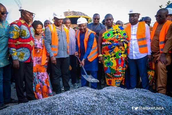 Vice President Bawumia Cuts Sod For 100km Of Kumasi Innercity Roads