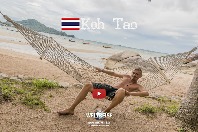 Koh Tao | THAILAND | Sairee Beach | www.WELTREISE.tv # 201