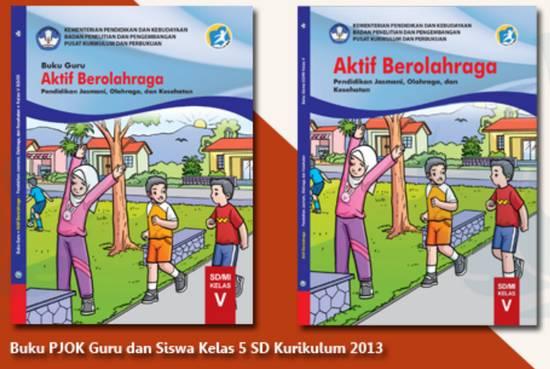 Buku PJOK Kelas 5 Kurikulum 2013 Revisi 2018