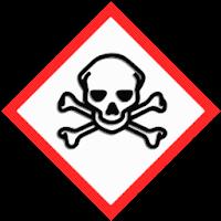 Acute toxicity hazard sign