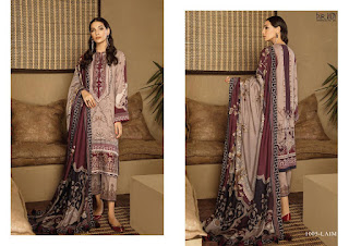 Fair Lady Baroque Jam Satin Pakistani Suits Collection At Diwan Fashion