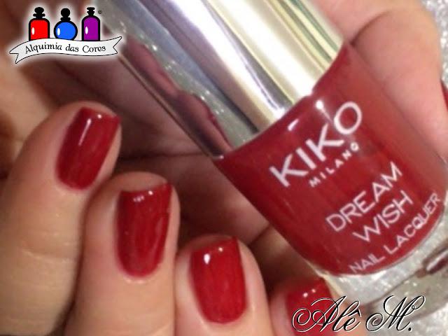 Kiko, Dream Wish, The Ood, CBL, YZWLE-02, Alê M., Alquimia das Cores, Vermelho