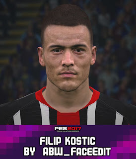 PES 2017 Faces Filip Kostic by ABW