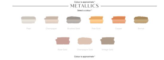 fusion metallic colors