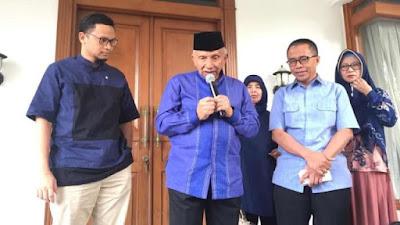 Amien Rais Jelaskan Isi Surat Prabowo