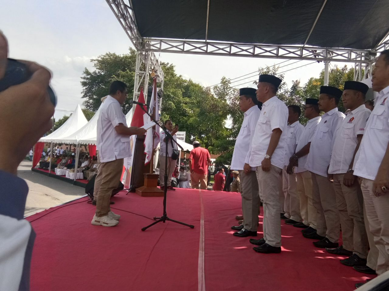 Dollah Mando Resmi Pimpin Gerindra Sidrap