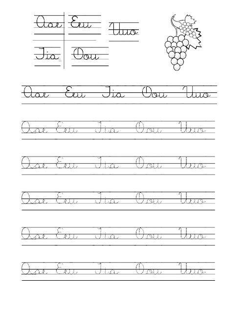 Mi Cuaderno de Caligrafia
