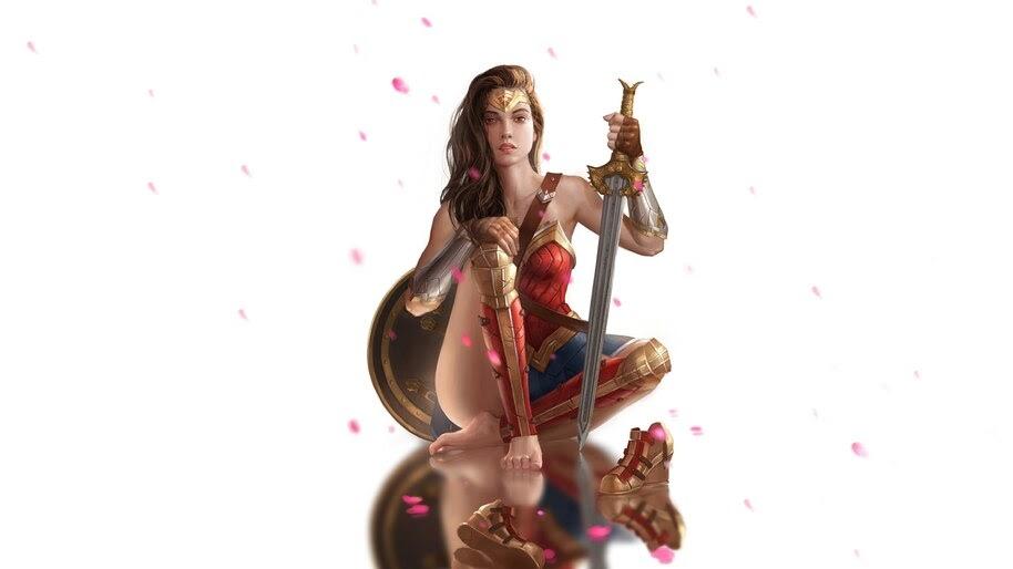 Wonder Woman, Sword, 4K, #6.404