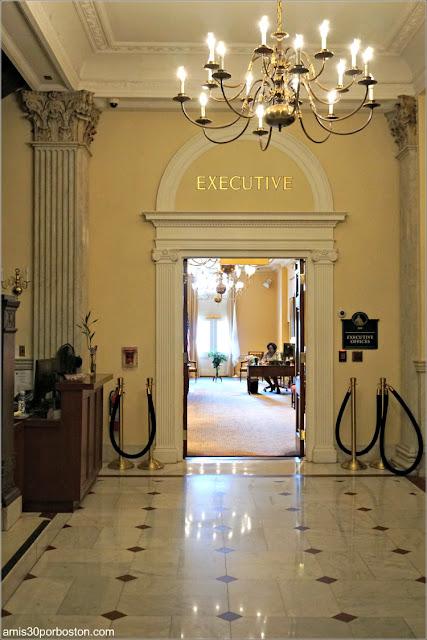 Entrada a las Oficinas del Gobernador en el Massachusetts State House