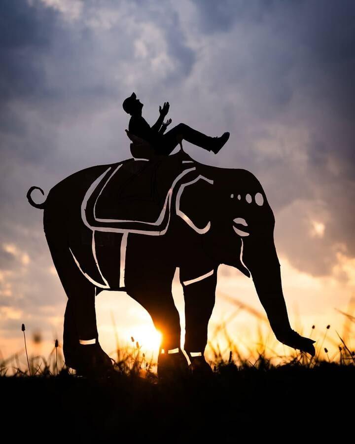 10-Elephant-ride-John-Marshall-www-designstack-co