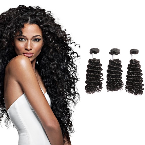 Diamond Virgin Hair Deep Curly 3Bundles