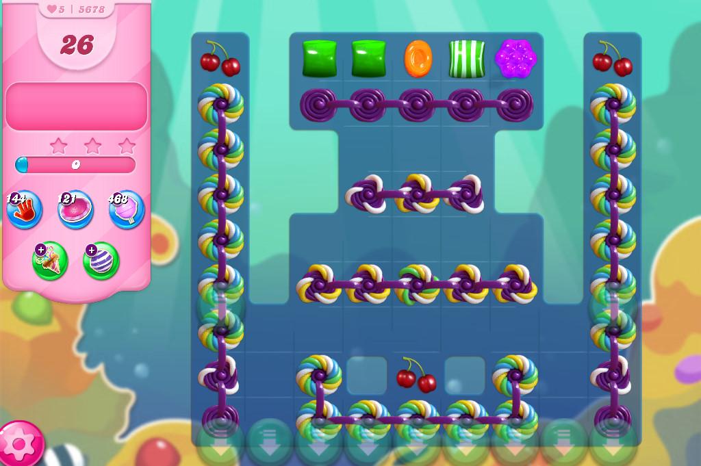 Candy Crush Saga level 5678