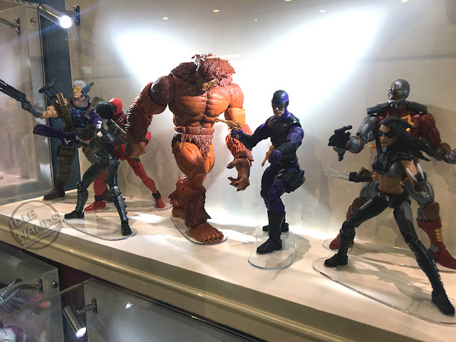 Hascon 2017 Hasbro Marvel Legends Action Figures Deadpool Wave