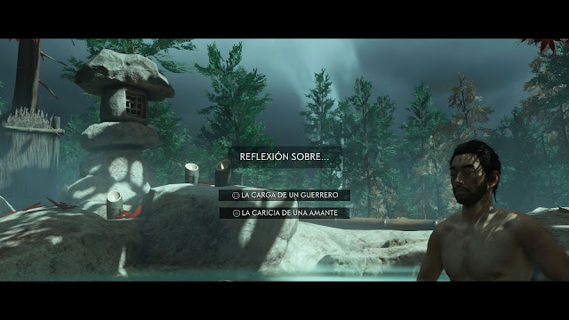 Análisis Ghost of Tsushima en PS4 Aguas termales Jin Sakai
