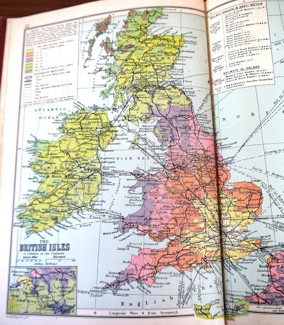 Old Britain Map
