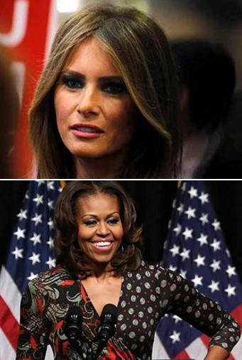 melania trump michelle obama quotes