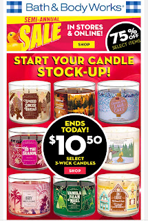 Bath & Body Works | Today's Email - January 12, 2020