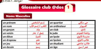 مراجعة نهائية لغة فرنسية للصف الاول الثانوي الترم الثاني لعام 2022