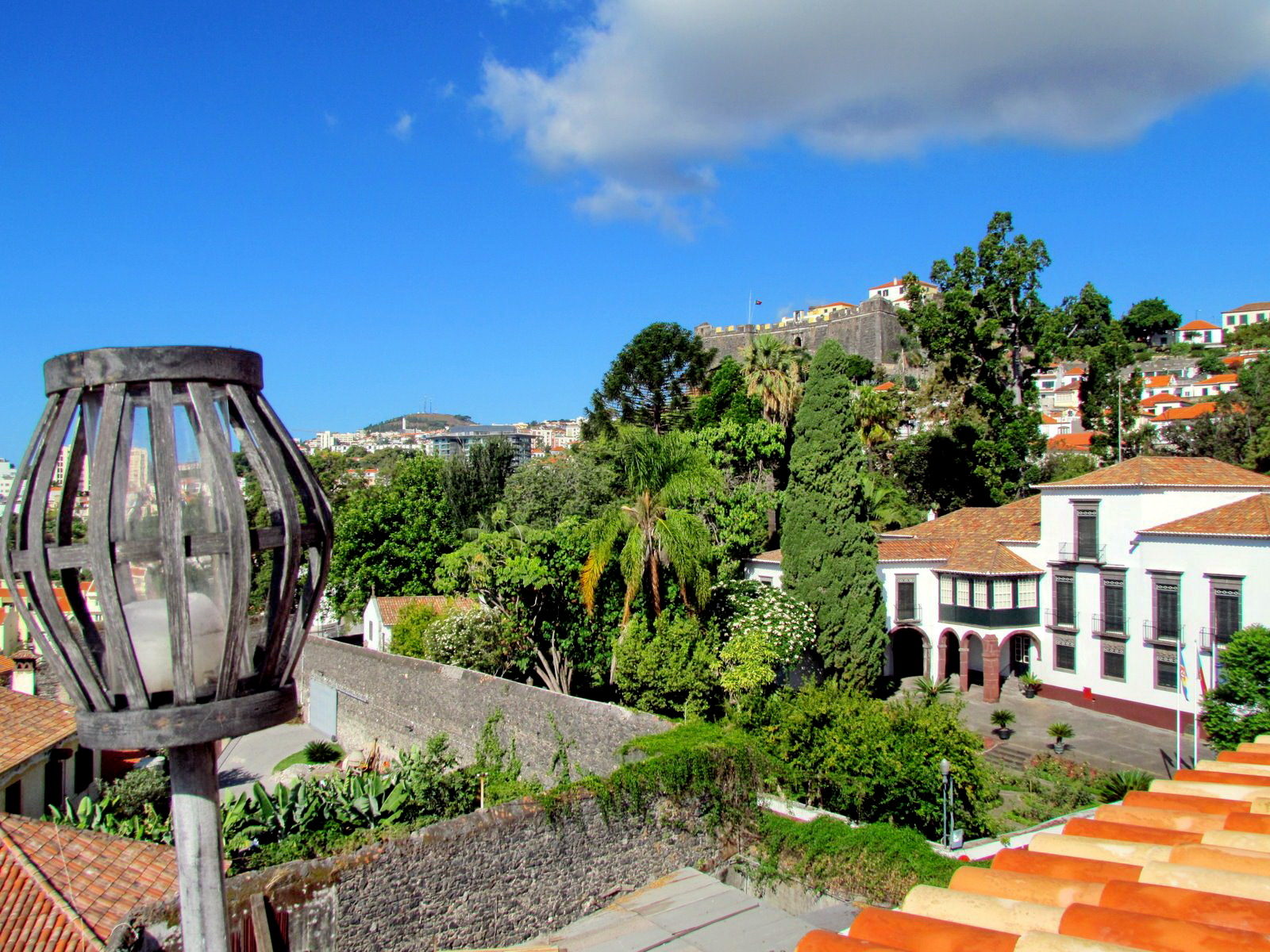 Funchal city made today 503 years