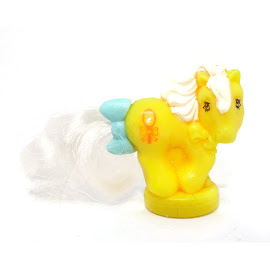 MLP Yellow Mirror Pony Year 8 Ponytail Ponies Petite Pony