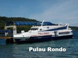 Penyebrangan dari Sabang ke Banda Aceh