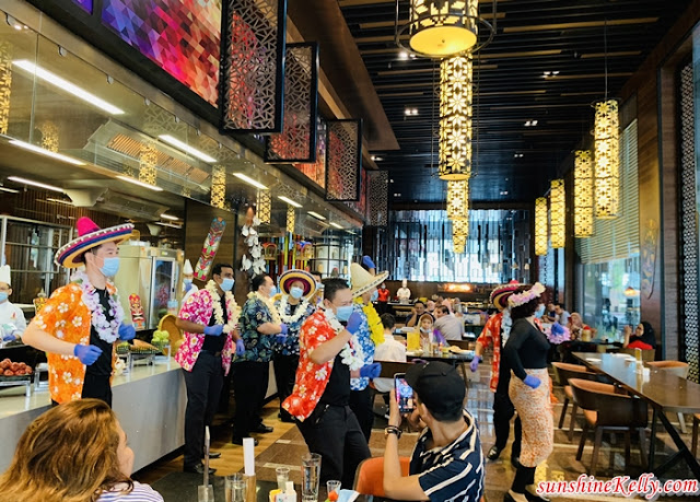 The Resort Café Reopens, United By Food, Tiki-licious Sunday Brunch, The Resort Café, Sunway Resort Hotel & Spa, Food Review, Food, Weekdays Lunch, Weekend Brunch, Buffet to you, Lūʻau-inspired set-up